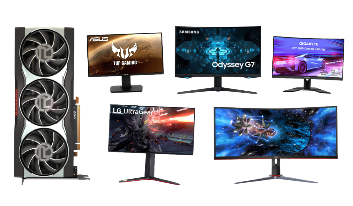 best monitors for rx 6800