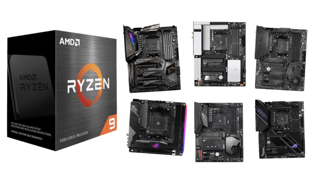 best motherboards for ryzen 9 5950x