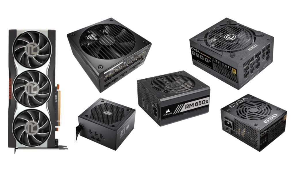 best psus for rx 6800