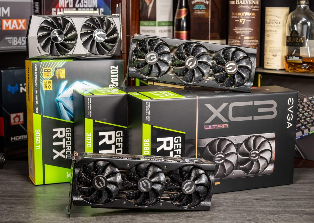 RTX 3060 Ti vs 3070 vs 3080 Benchmark Comparison