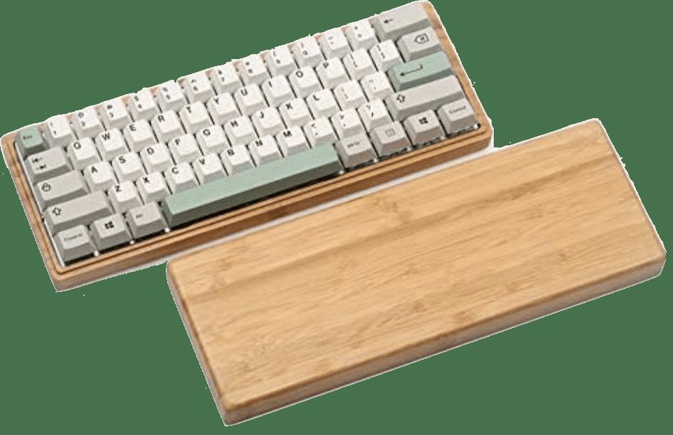 Bamboo Wood case for mechanical keyboard