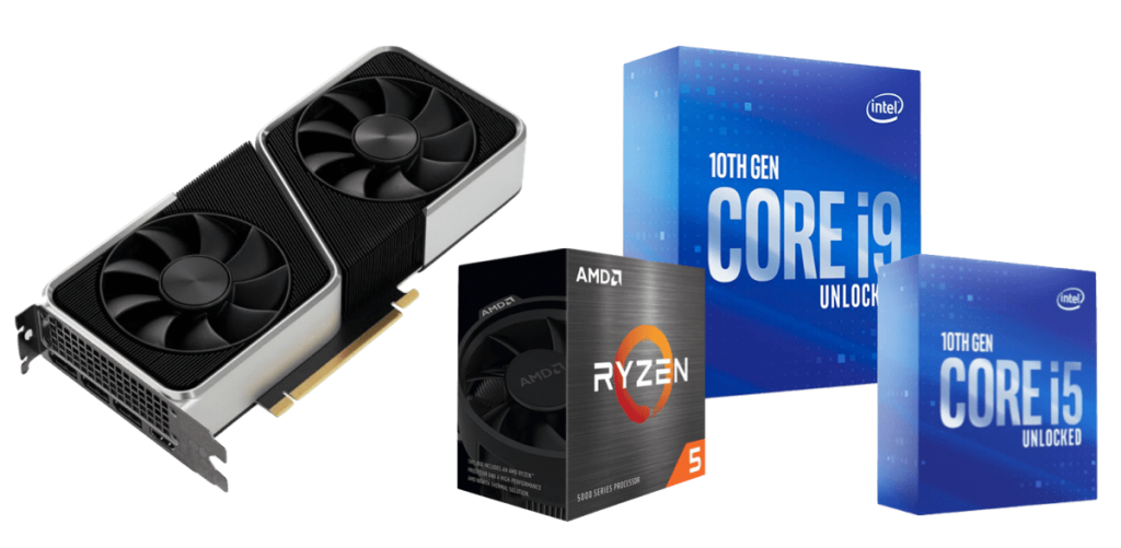 best cpus for rtx 3060 ti