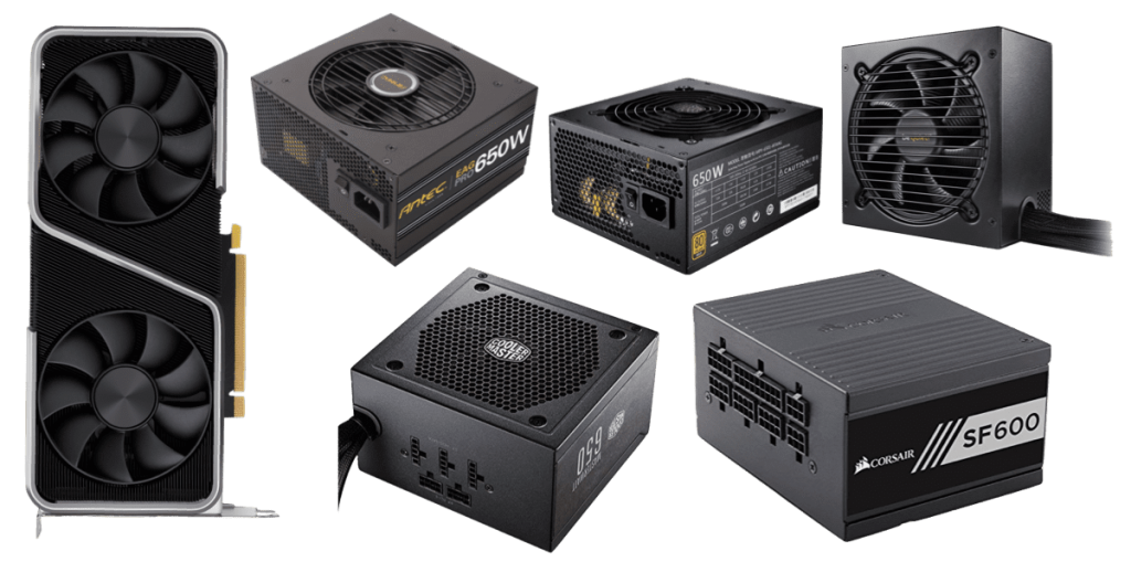 best psus for rtx 3060 ti