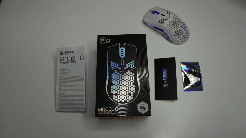 Glorious Model O Wireless Review Packaging