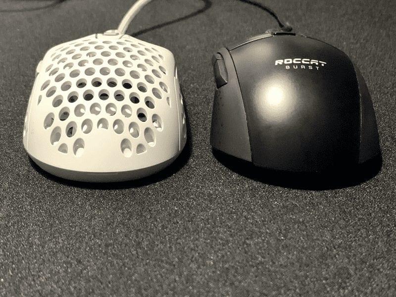 Xtrfy M42 vs Roccat Burst Pro Comparison Side by side