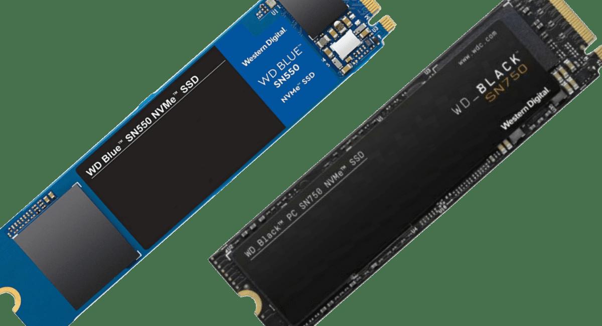 wd sn550 vs sn750