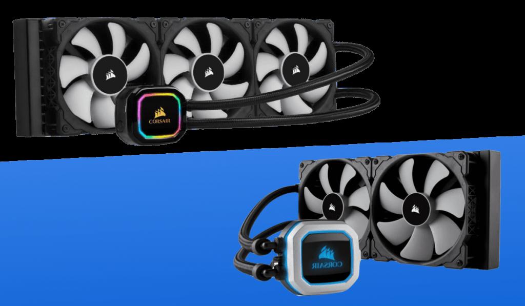 Corsair H115i RGB Platinum vs H150i RGB Pro