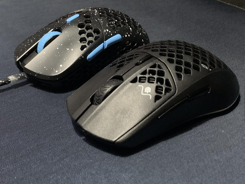 Front Shape Comparions Aerox 3 vs Hati S for review