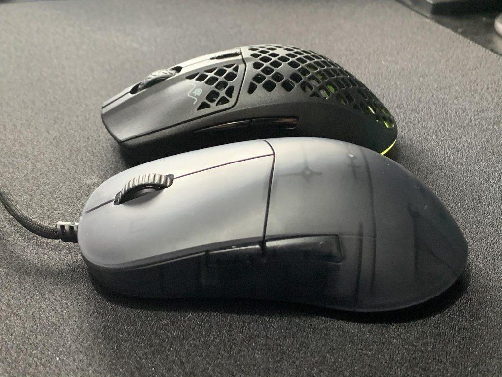 XM1r vs Aerox 3 shape side view for XM1r review