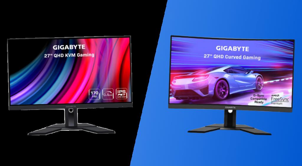 gigabyte m27q vs g27q