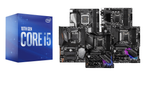best motherboards for intel core i5-10400 f