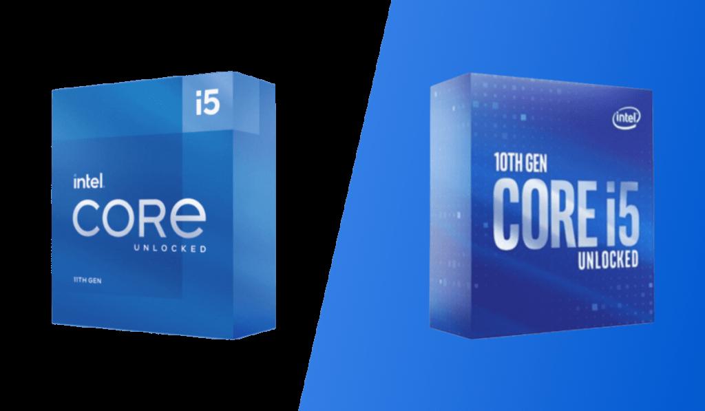 intel core i5 11600k vs 10600k