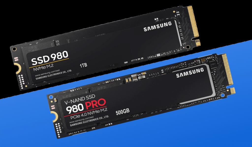 samsung 980 vs 980 pro