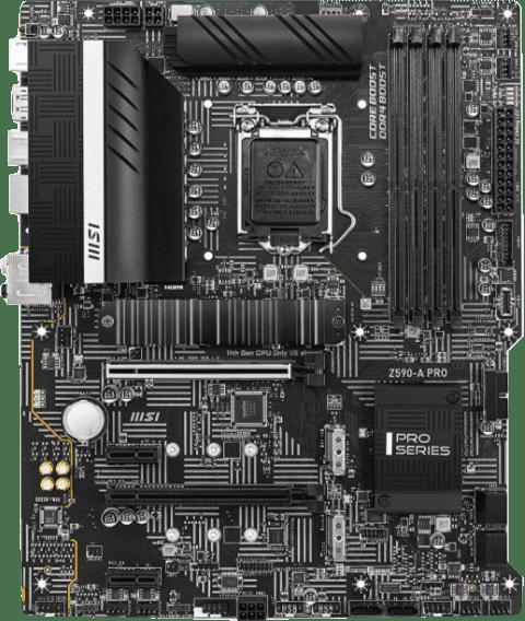 MSI Z590 A-Pro