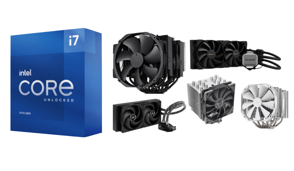 best cpu coolers for intel core i7 11700k