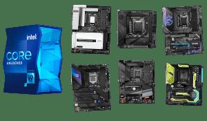 best motherboards for i9-11900k