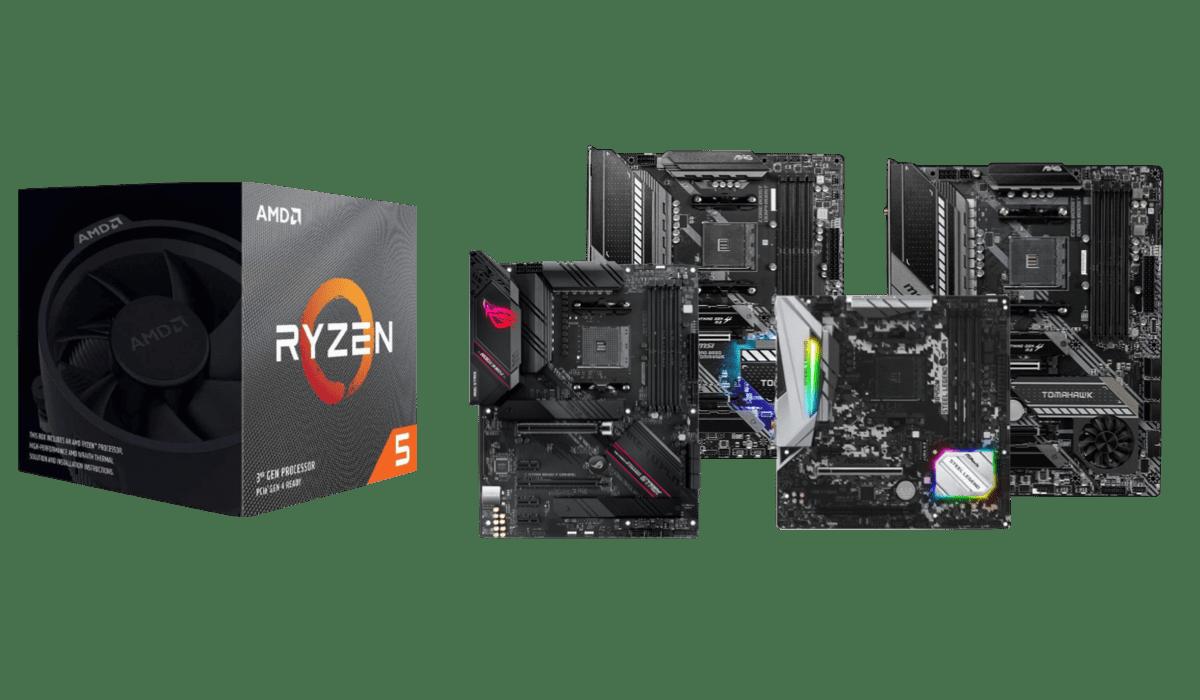best motherboards for ryzen 5 3600x