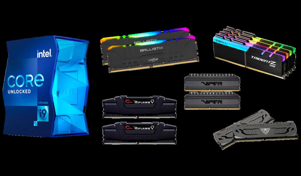 best ram for Intel core i9-11900k