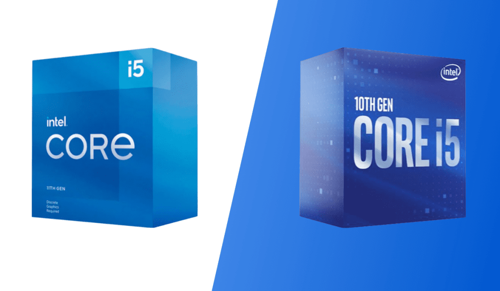 intel core i5 11400f vs 10400f