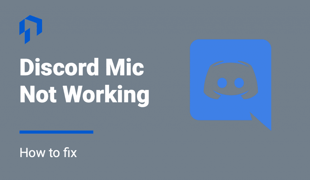 discord mic not working how to fix