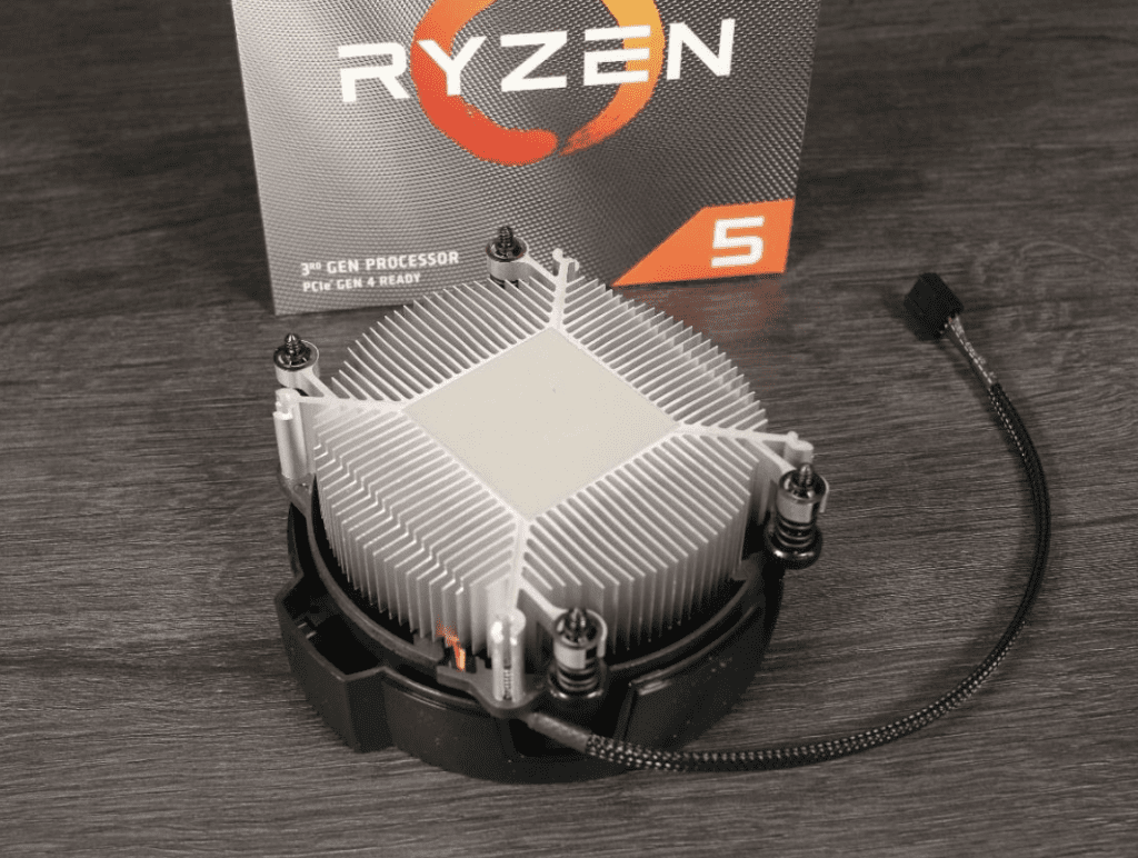 AMD Wraith Stealth Close Up