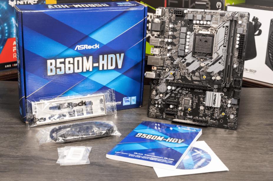 ASRock B560M-HDV Box