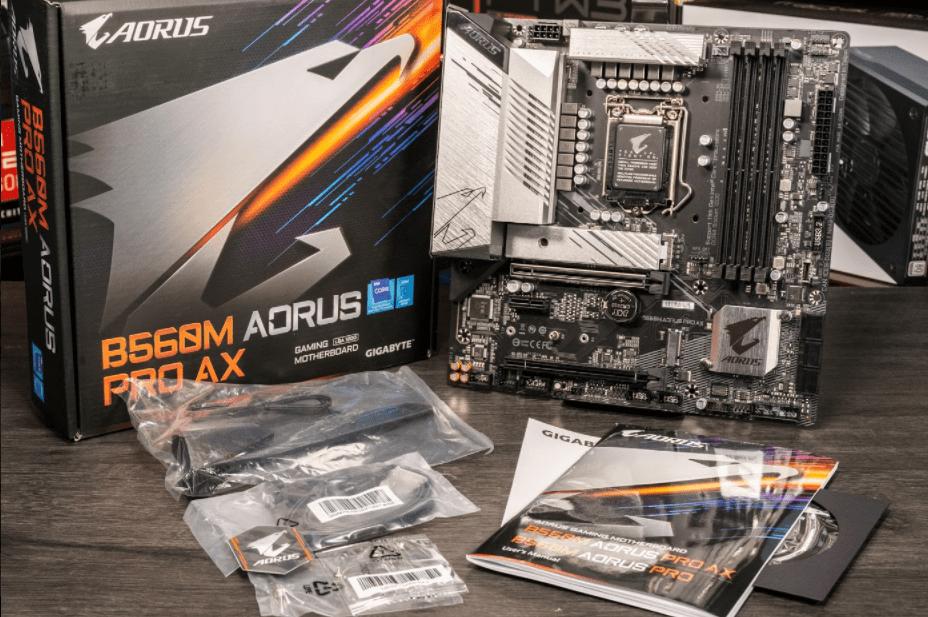 Gigabyte B560M Aorus Pro AX