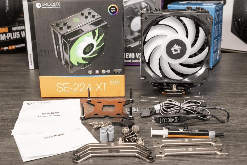 ID Cooling SE-224-XT RGB Box Contents