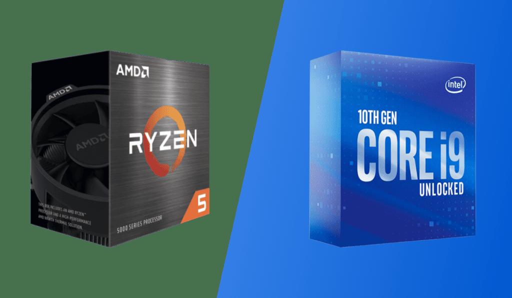 ryzen 5 5600x vs intel core i9-10850k