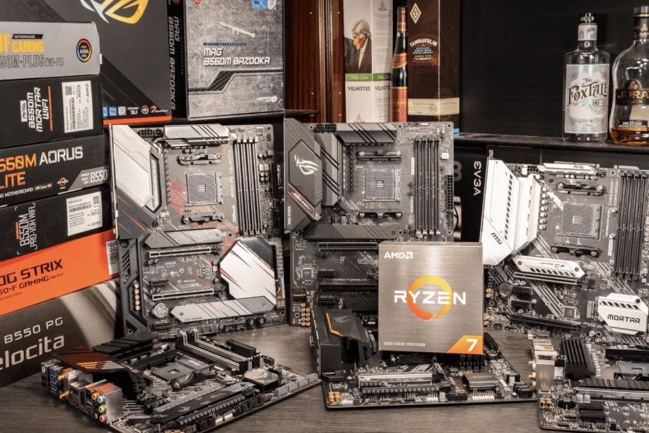 Best B550 Motherboards for Ryzen 5600X 5800X